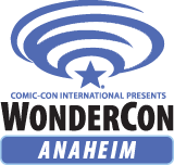 WonderCon and Comic Con International logos.